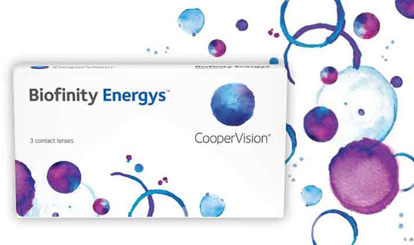 CooperVision Biofinity Energys Contact Lenses